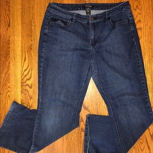 White House Black Market denim 14R